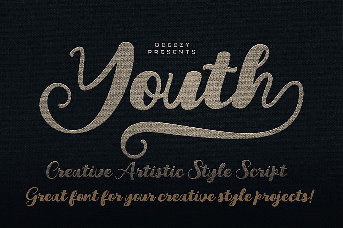 Youth Script Font example image 1