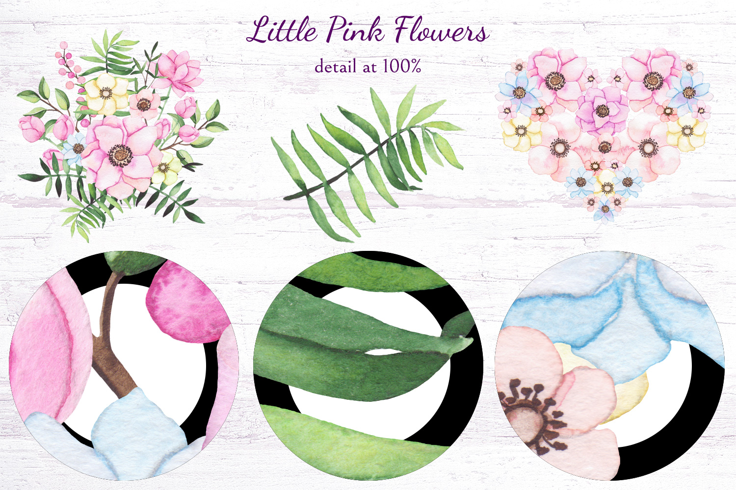 Little Pink Flowers example image 10
