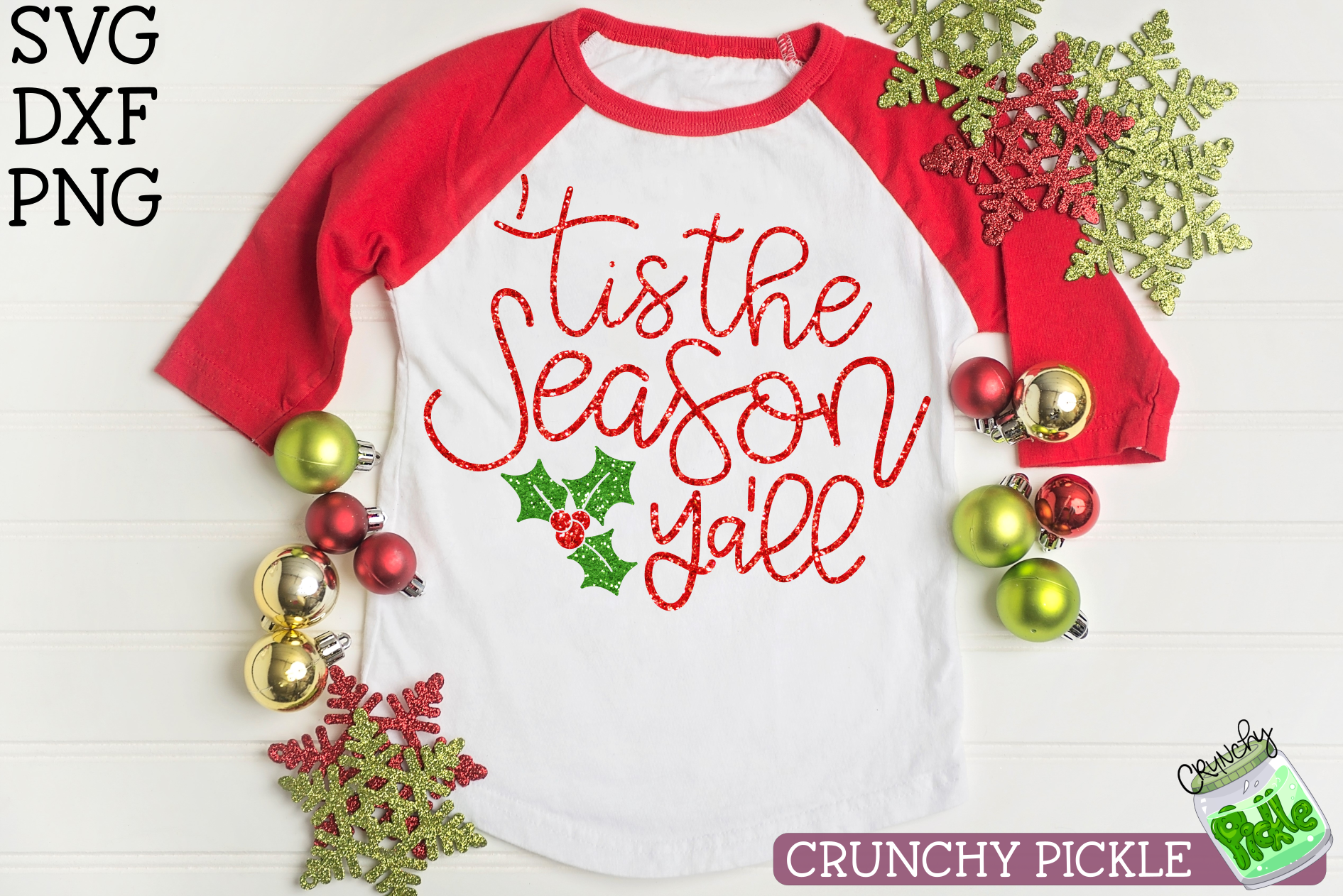 Tis the Season Ya'll Christmas SVG example image 3