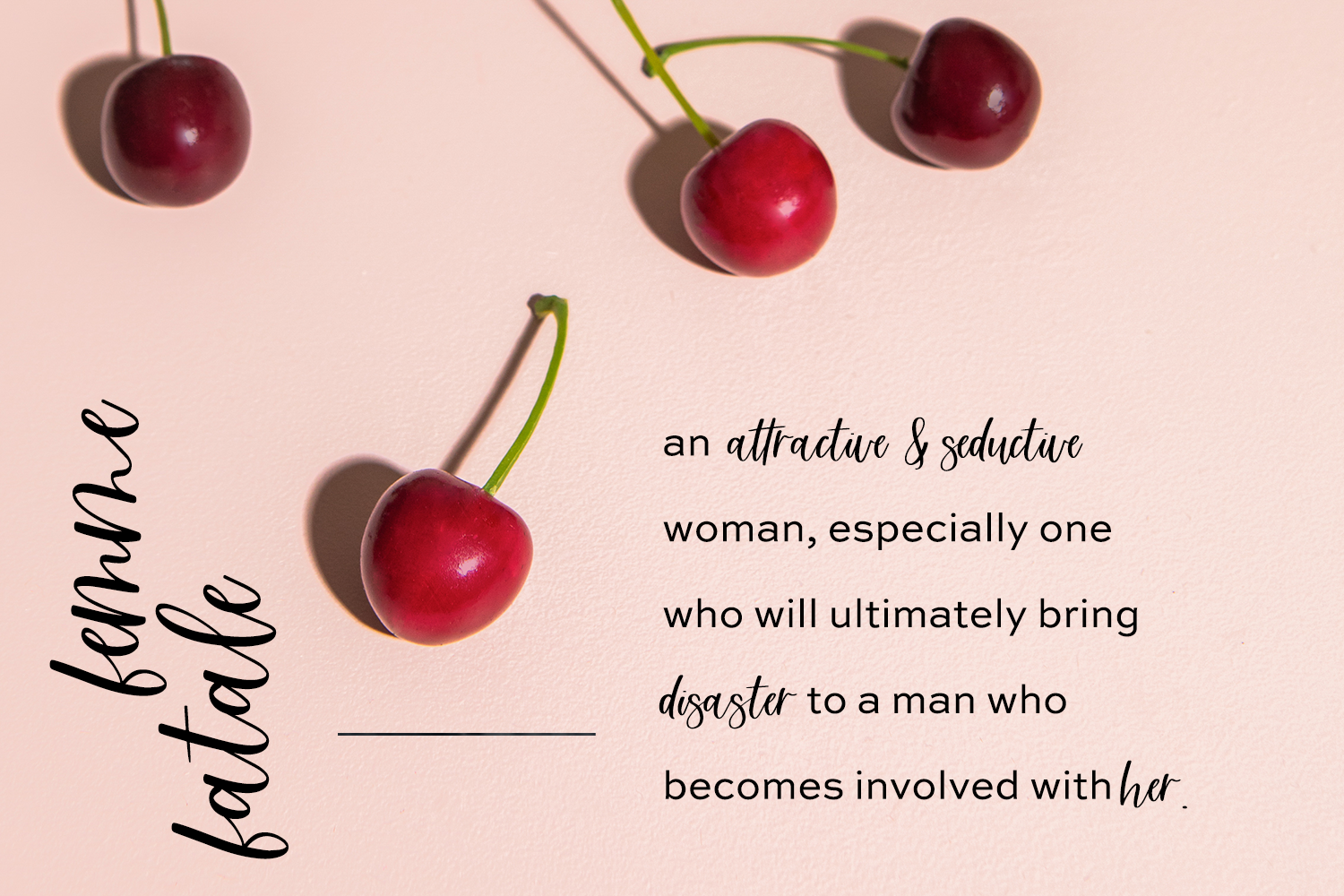 Femme Fatale Modern Calligraphy Font example image 4