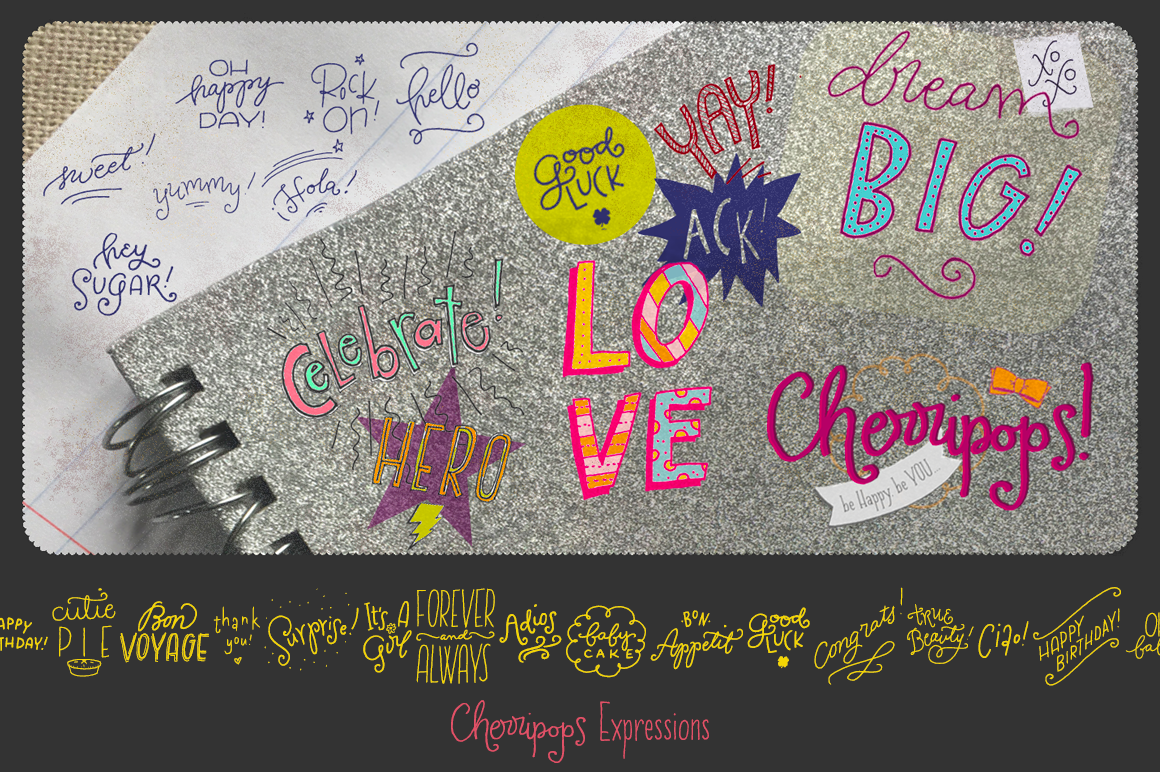 Cherripops Ribbons & Expressions example image 1