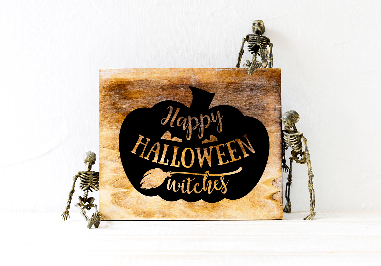 Halloween SVG Cut File Bundle example image 8