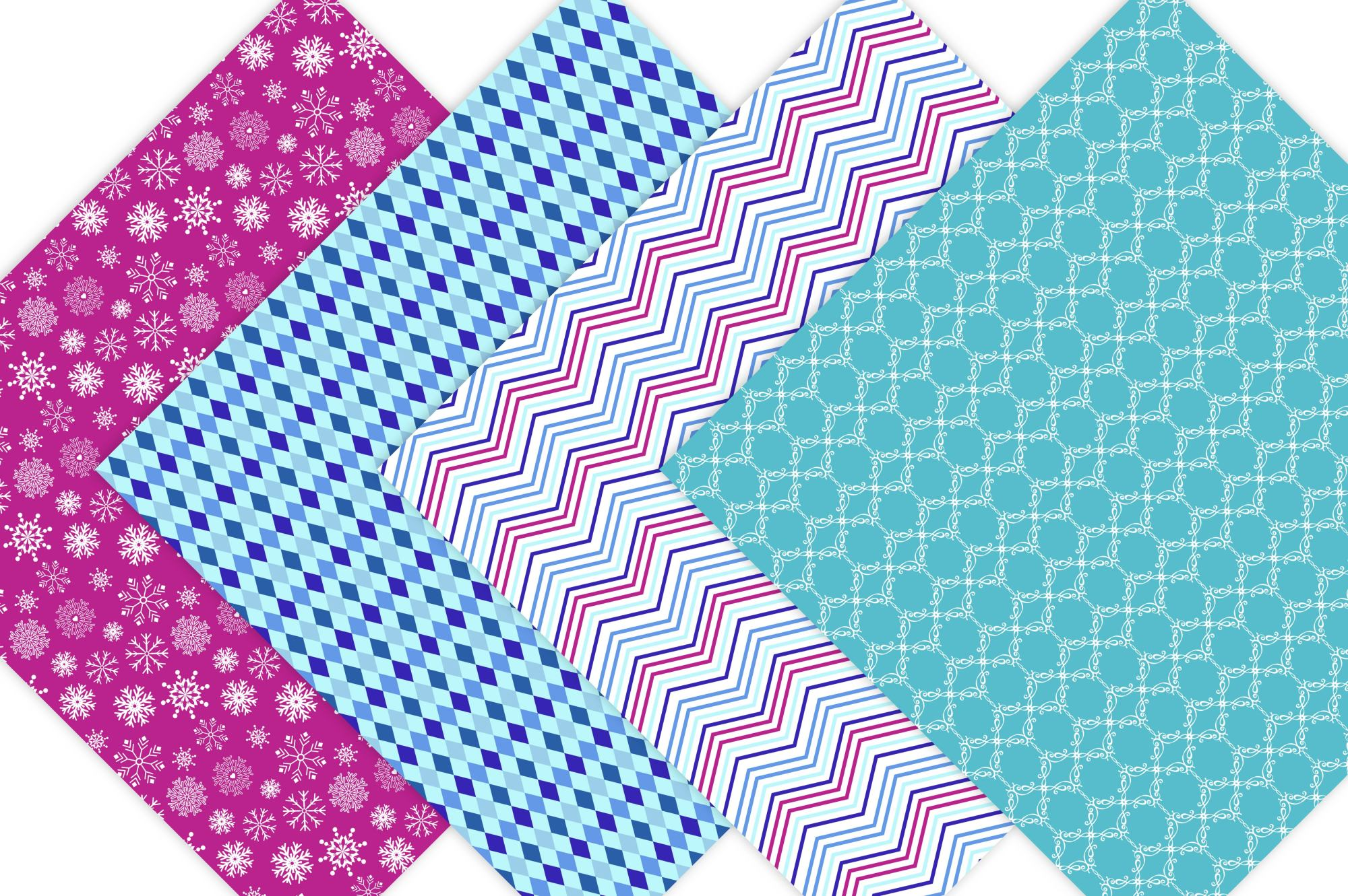 Frozen Digital Paper  example image 3