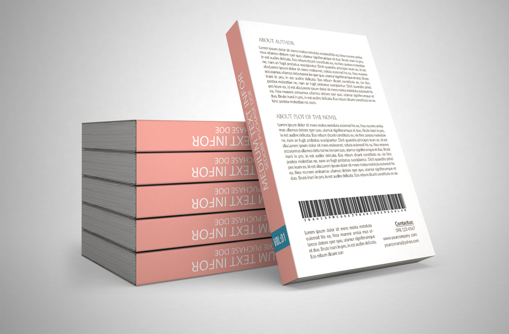 Story Book Cover Template example image 2