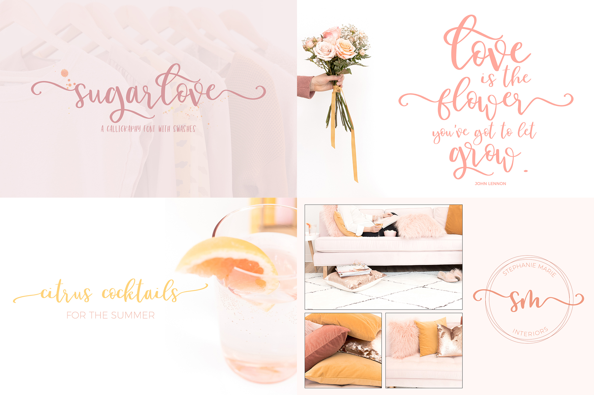 The Cute Crafter's Font Bundle example image 2
