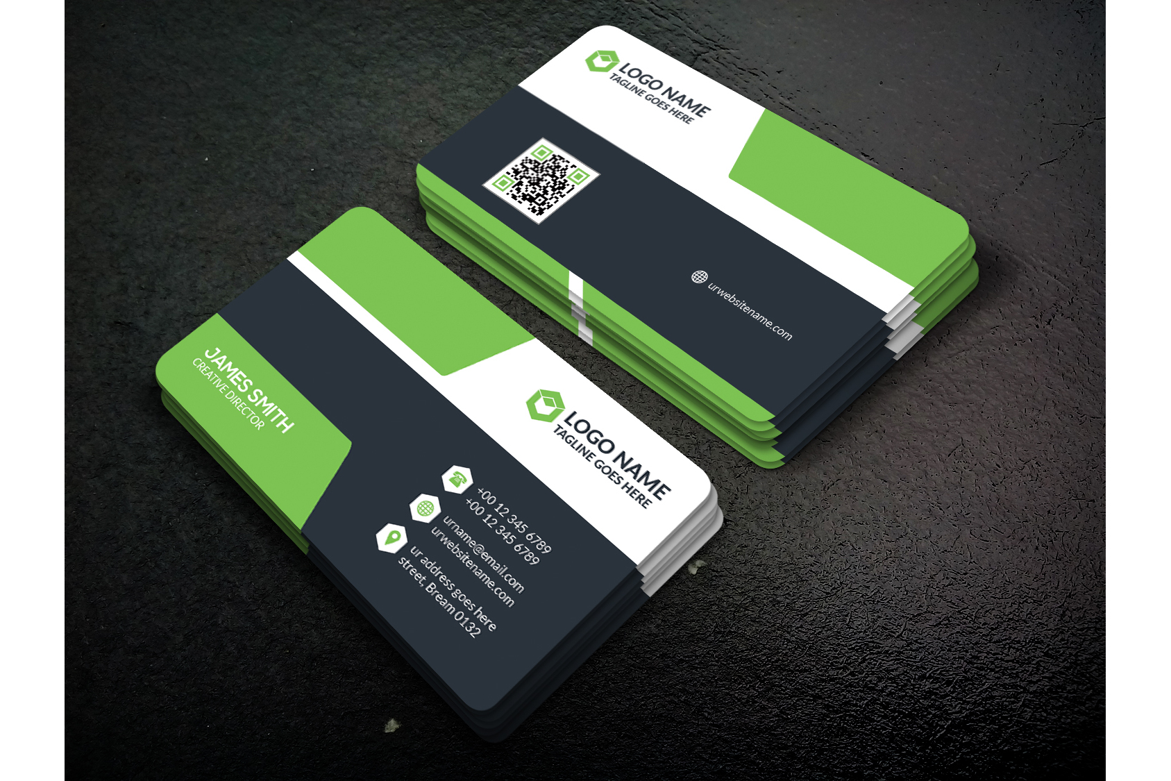 Creative Business Card example image 2