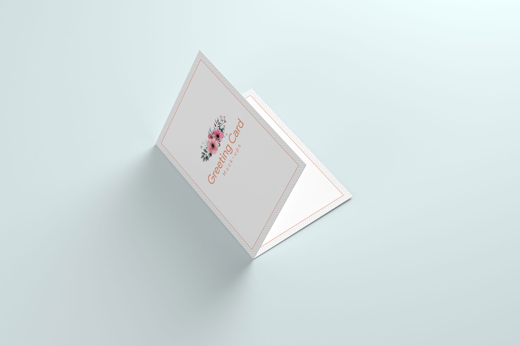 A6 Greeting Card Invitation X2 example image 14