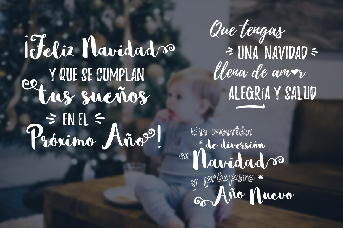 Spanish Christmas Photo Overlays example image 3