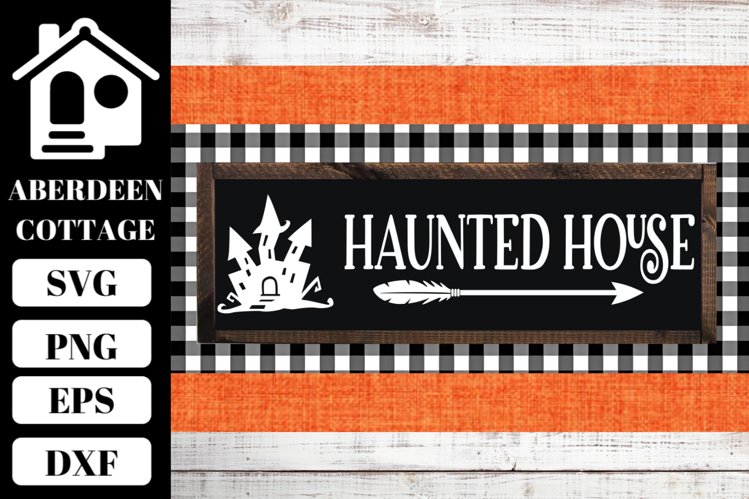 Haunted House 2 SVG example image 1