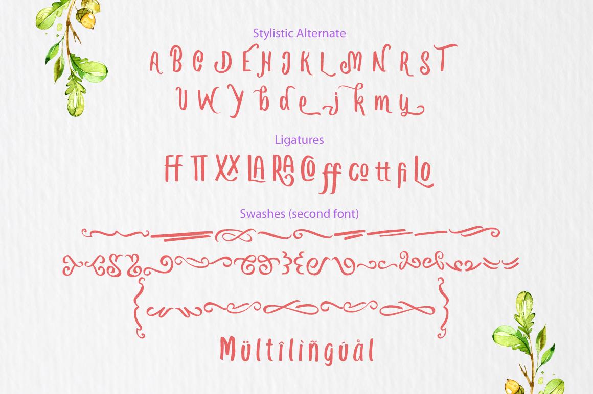 Love Quake Font example image 6