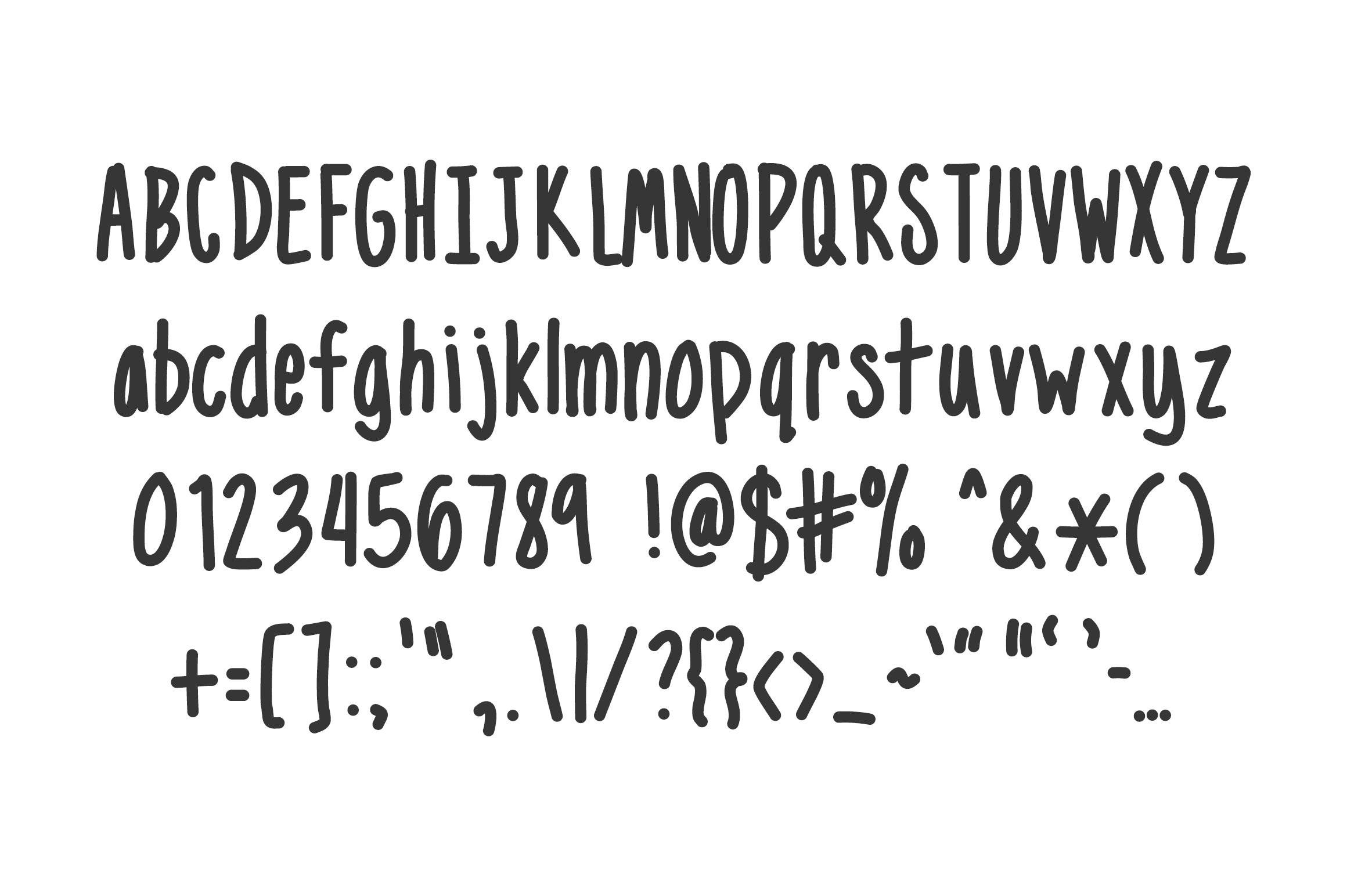Narrow - handwritten doodles in your notebook example image 2