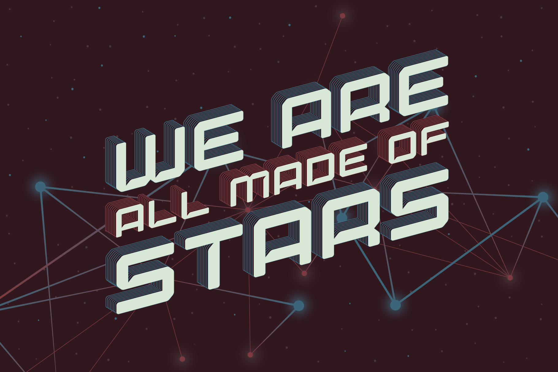 Lost in space. Futuristic typeface example image 4
