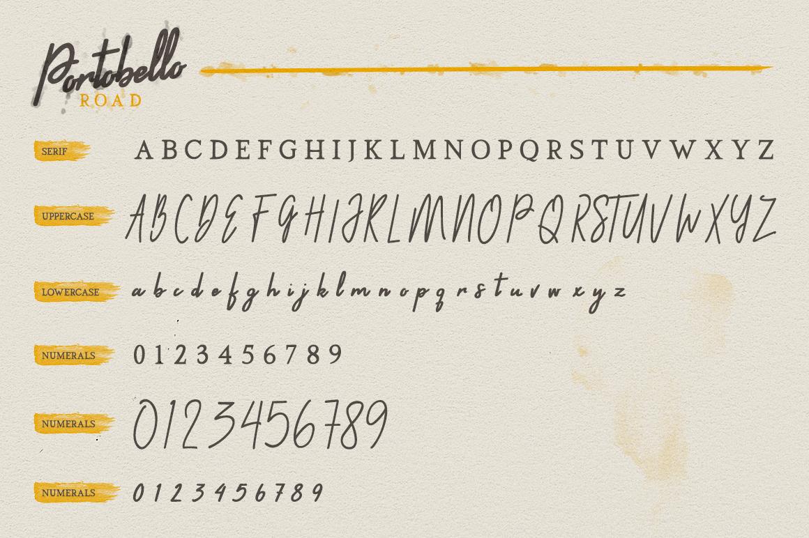 Portobello Road - Font Trio example image 4