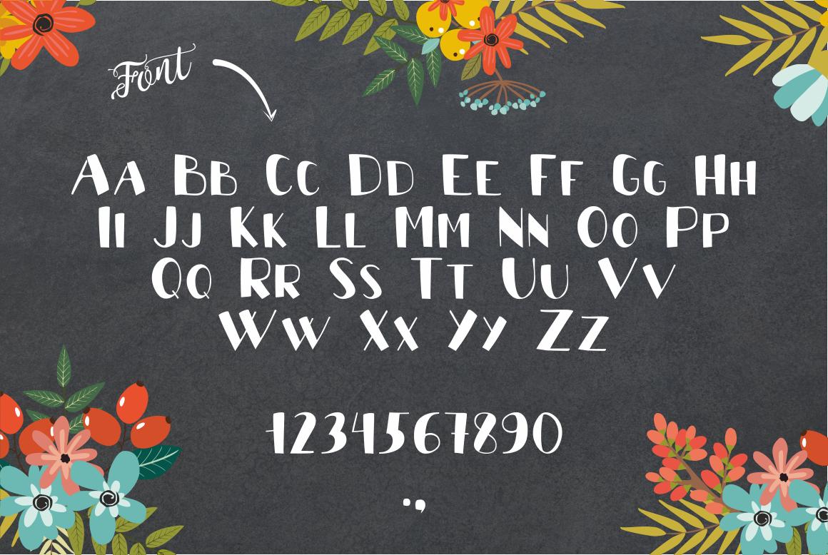 Font Pumpkin example image 2