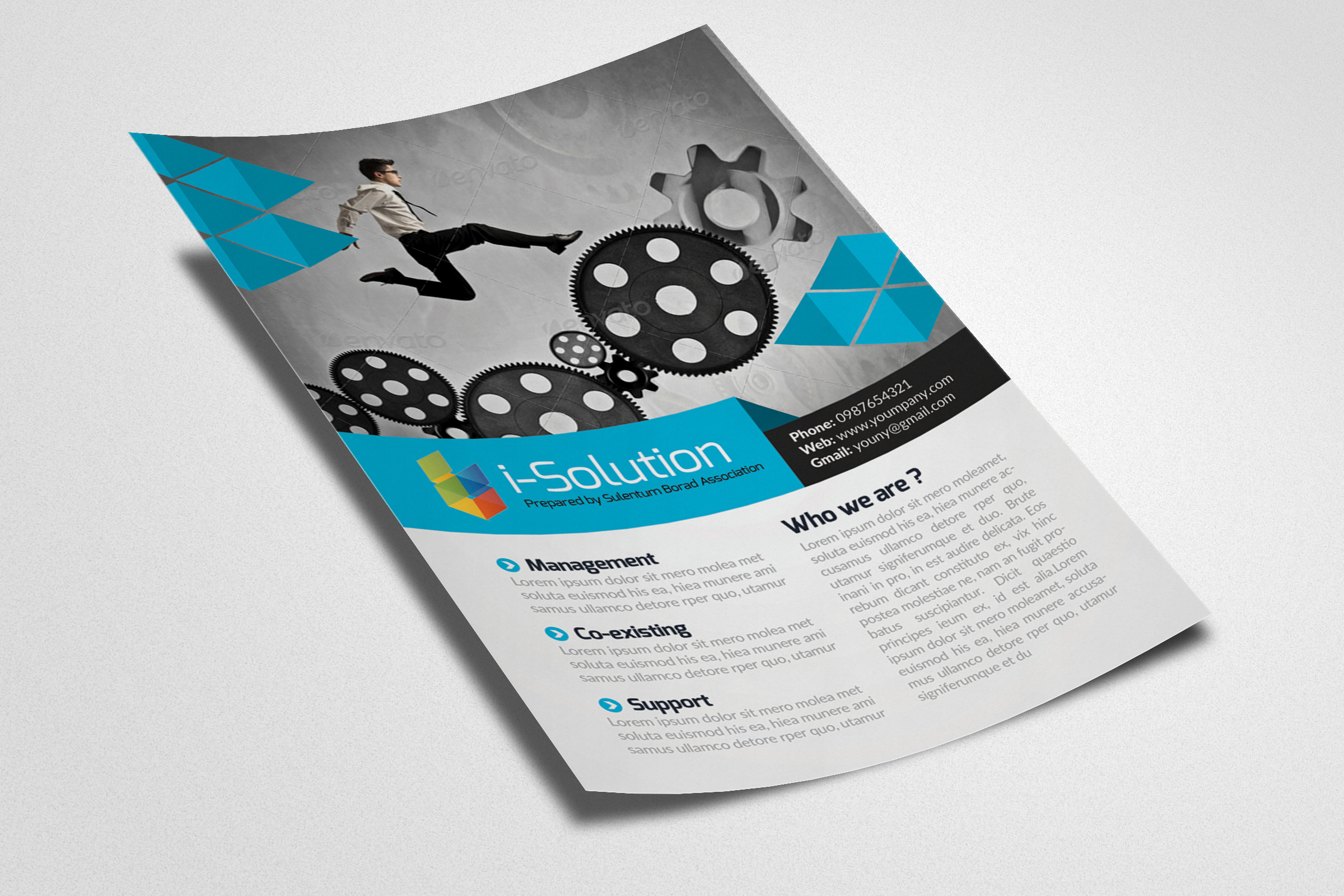 Business Motivation Flyer Template example image 2