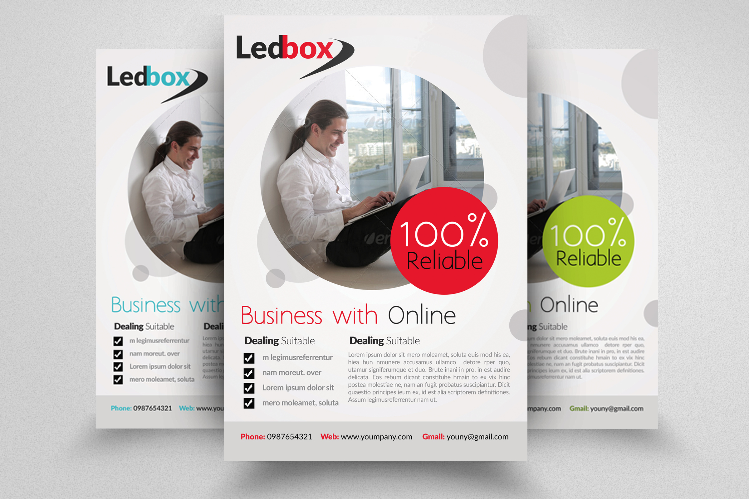 Business Innovation Flyer Template example image 1