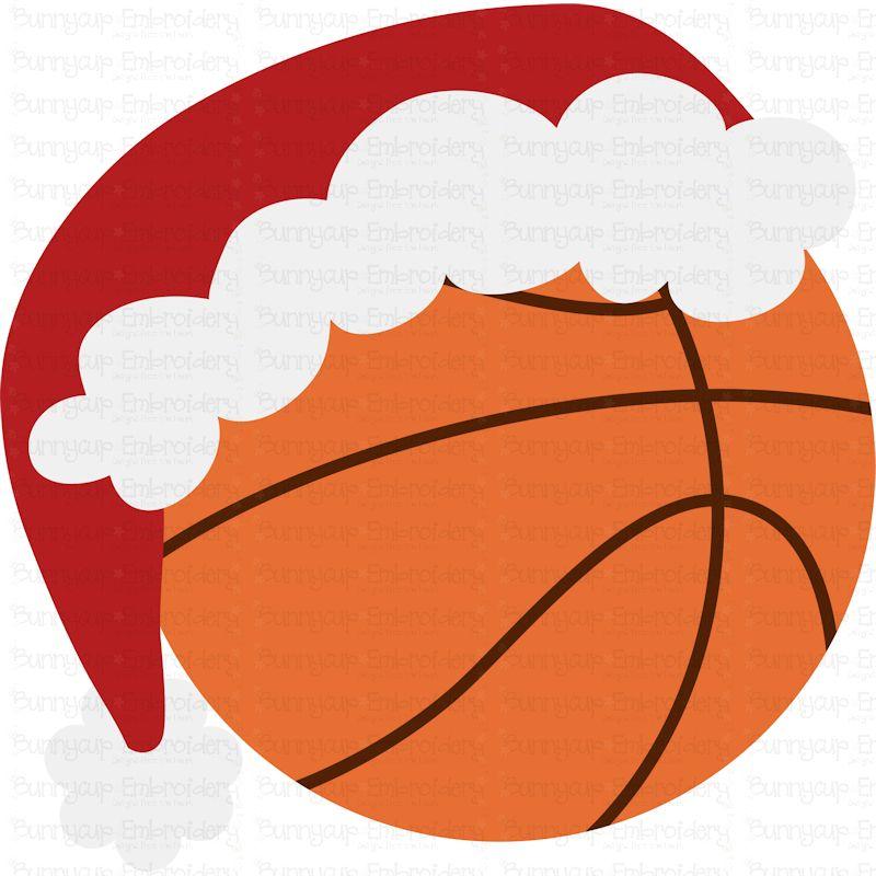Christmas Basketball - SVG, Clipart, Printable example image 2