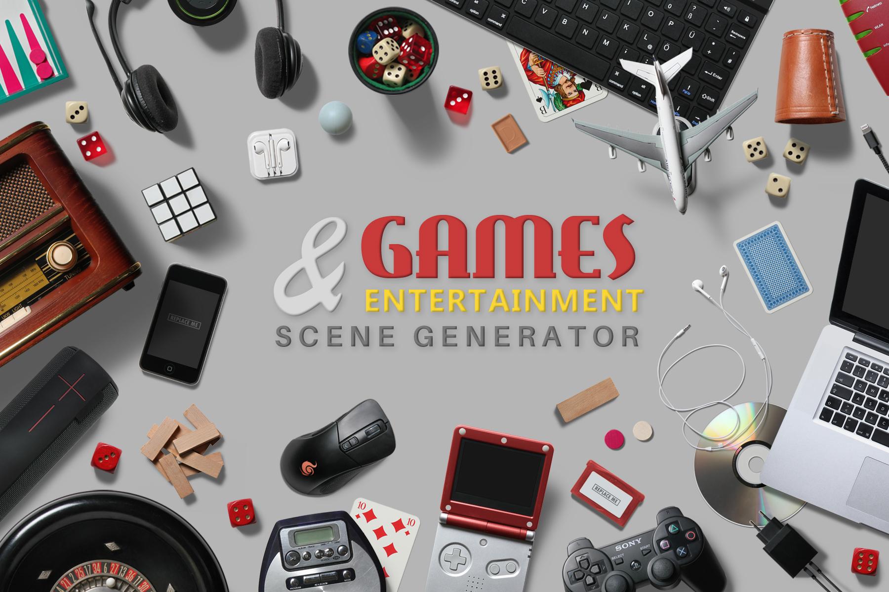 Games & Entertainment Scene Creator example image 1