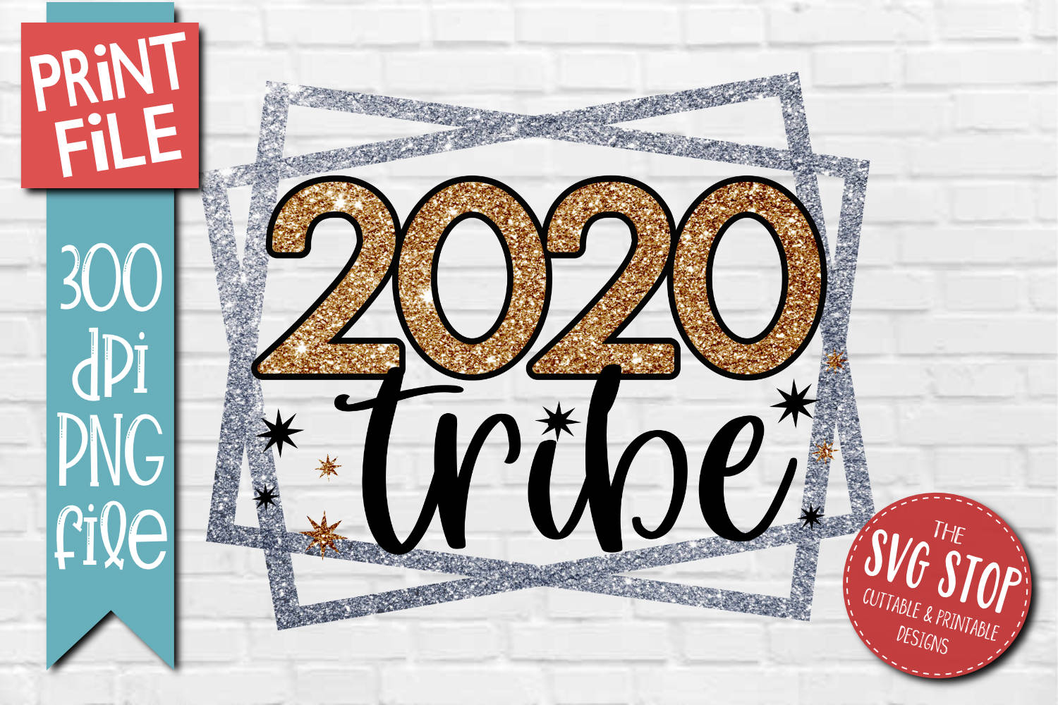 2020 Tribe Sublimation Design PNG File example image 1
