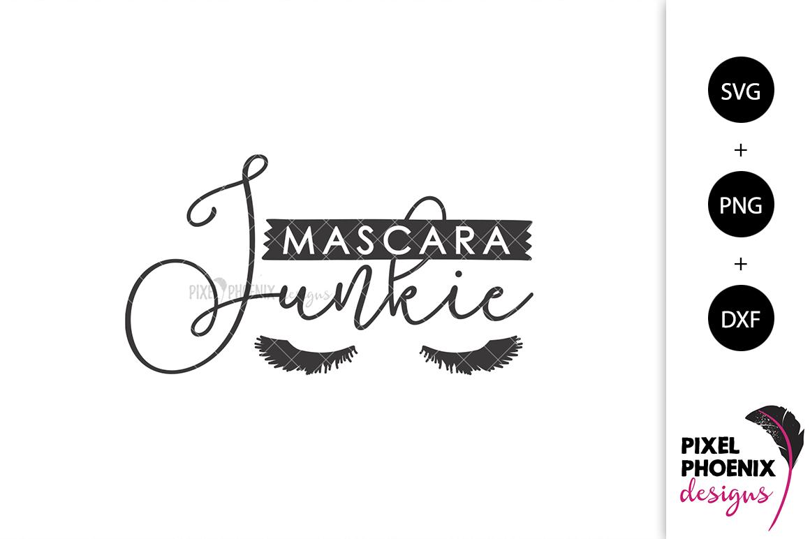 Mascara Junkie SVG example image 2