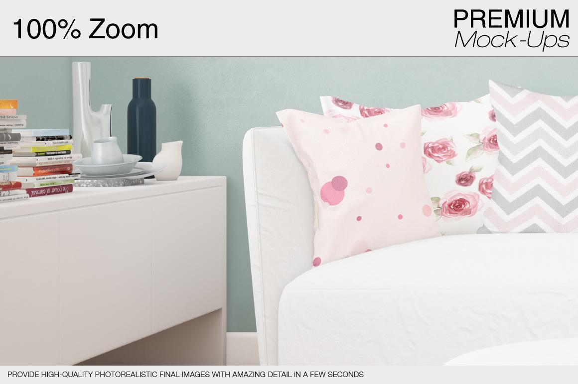 Pillow Mockup Set example image 2