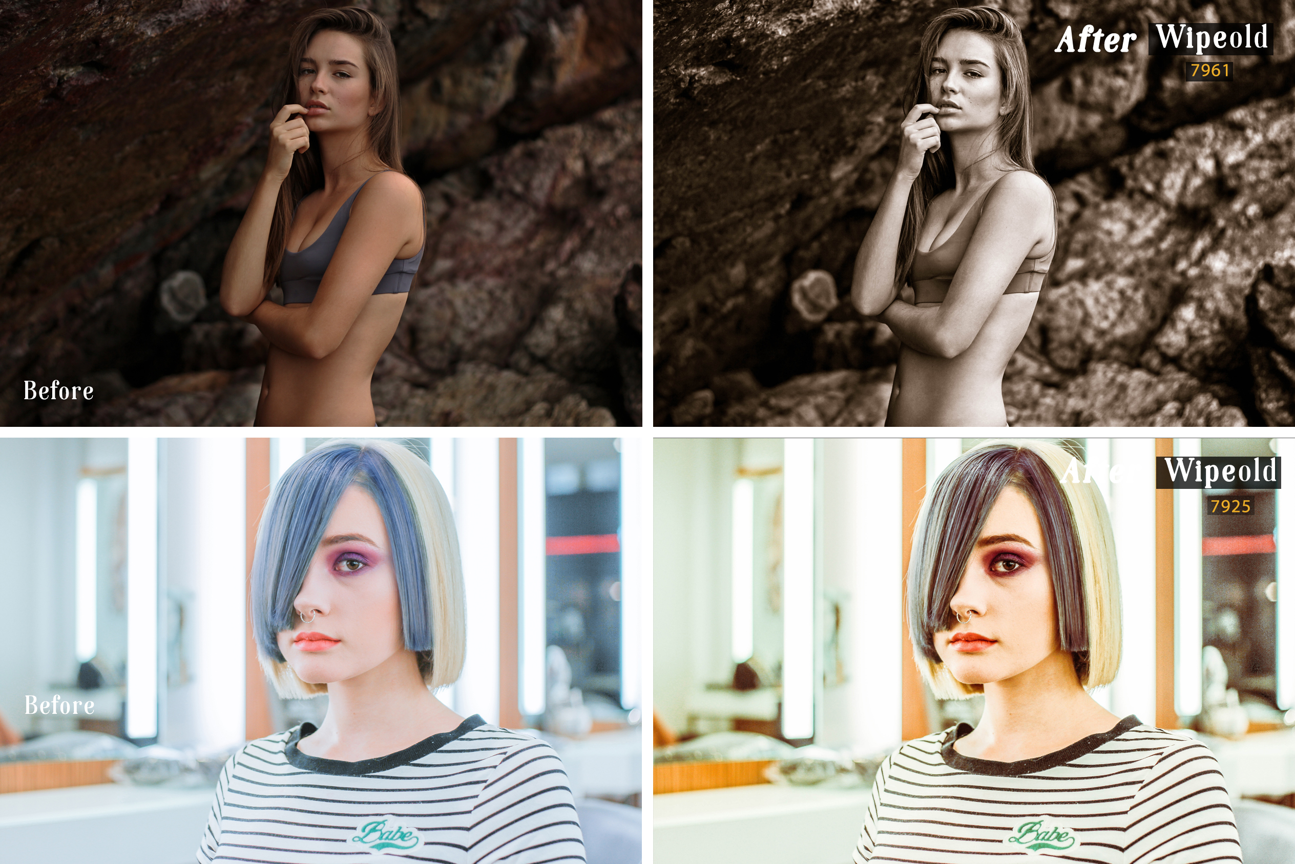 Wipeold Lightroom 100 and ACR 100 Presets example image 7