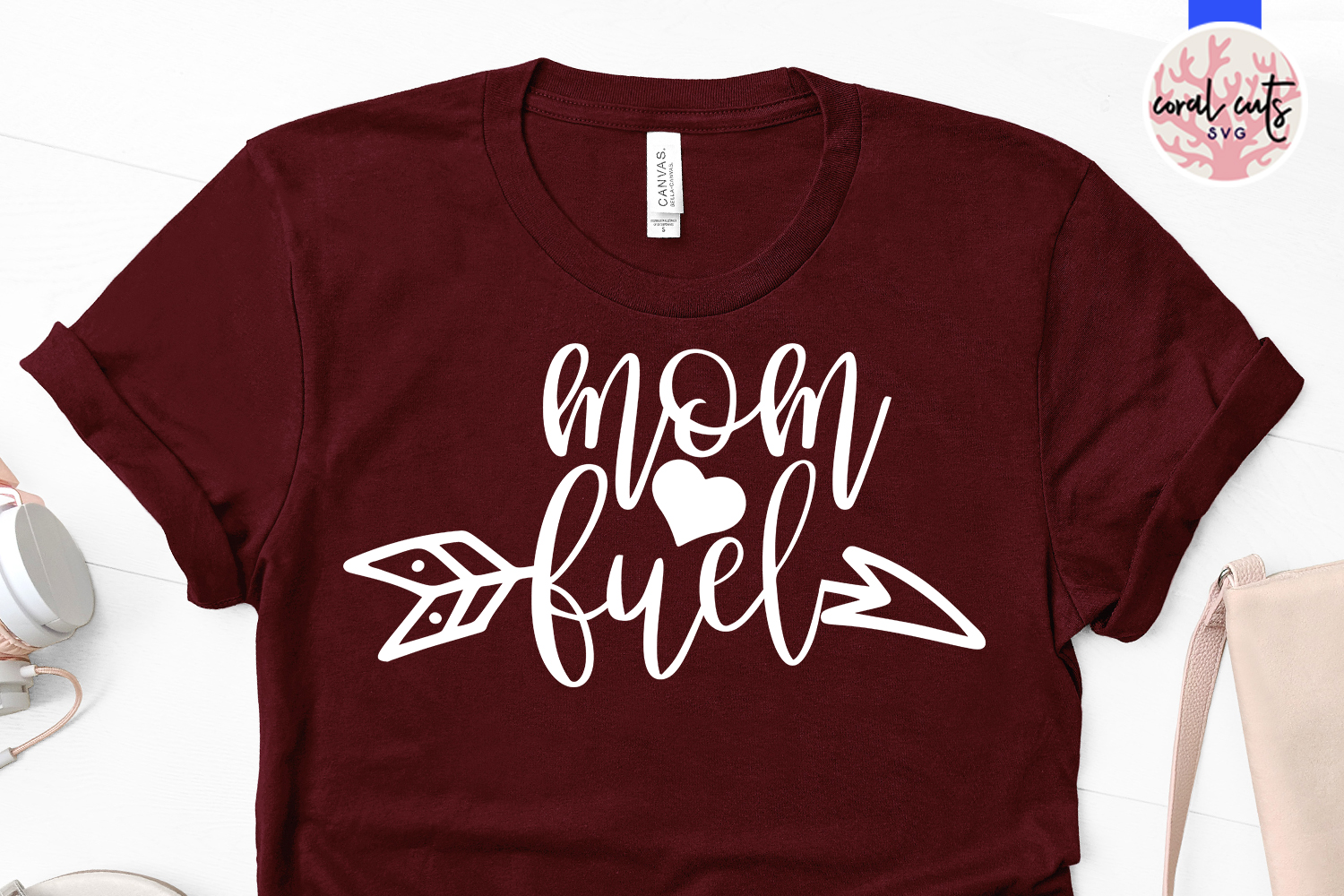 Mom fuel - Mother SVG EPS DXF PNG Cut File example image 2