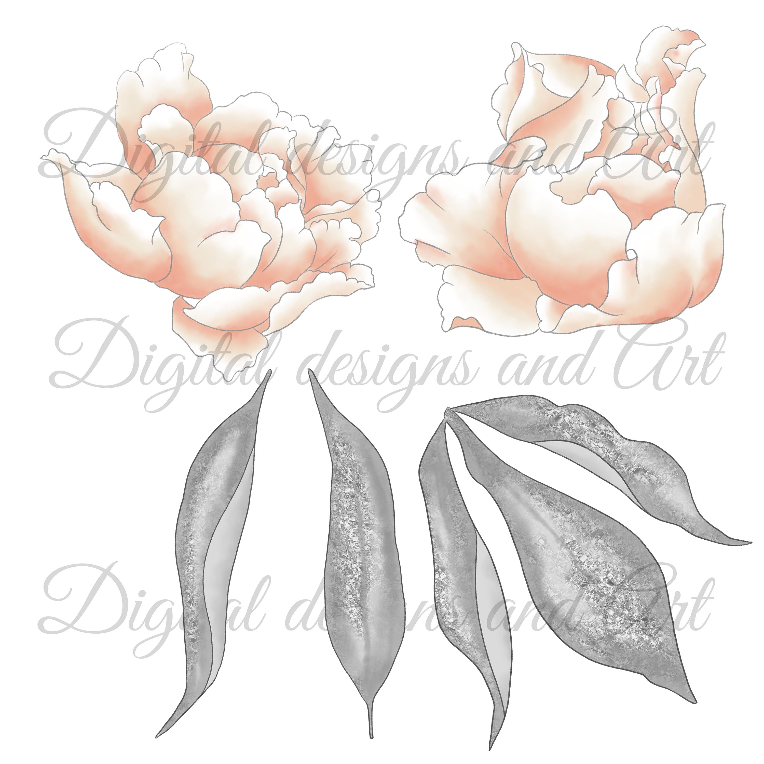 Wild swans clipart example image 7