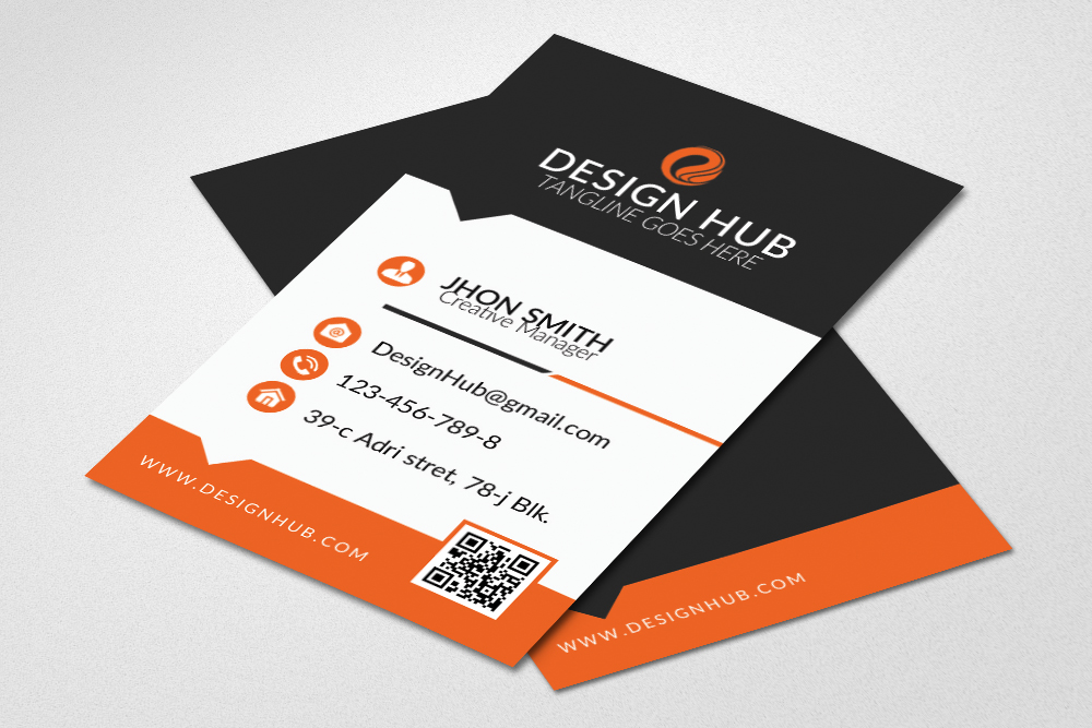 Clean Business Card Design example image 1