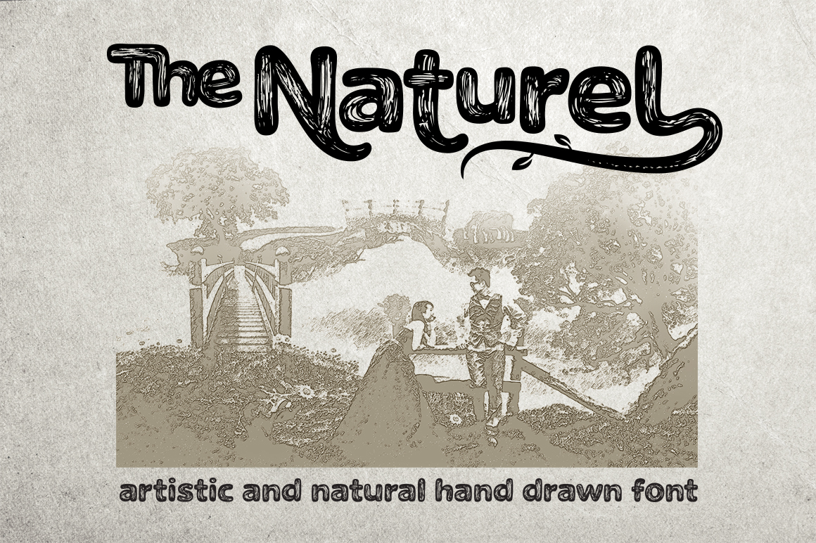 The Naturel Font example image 1