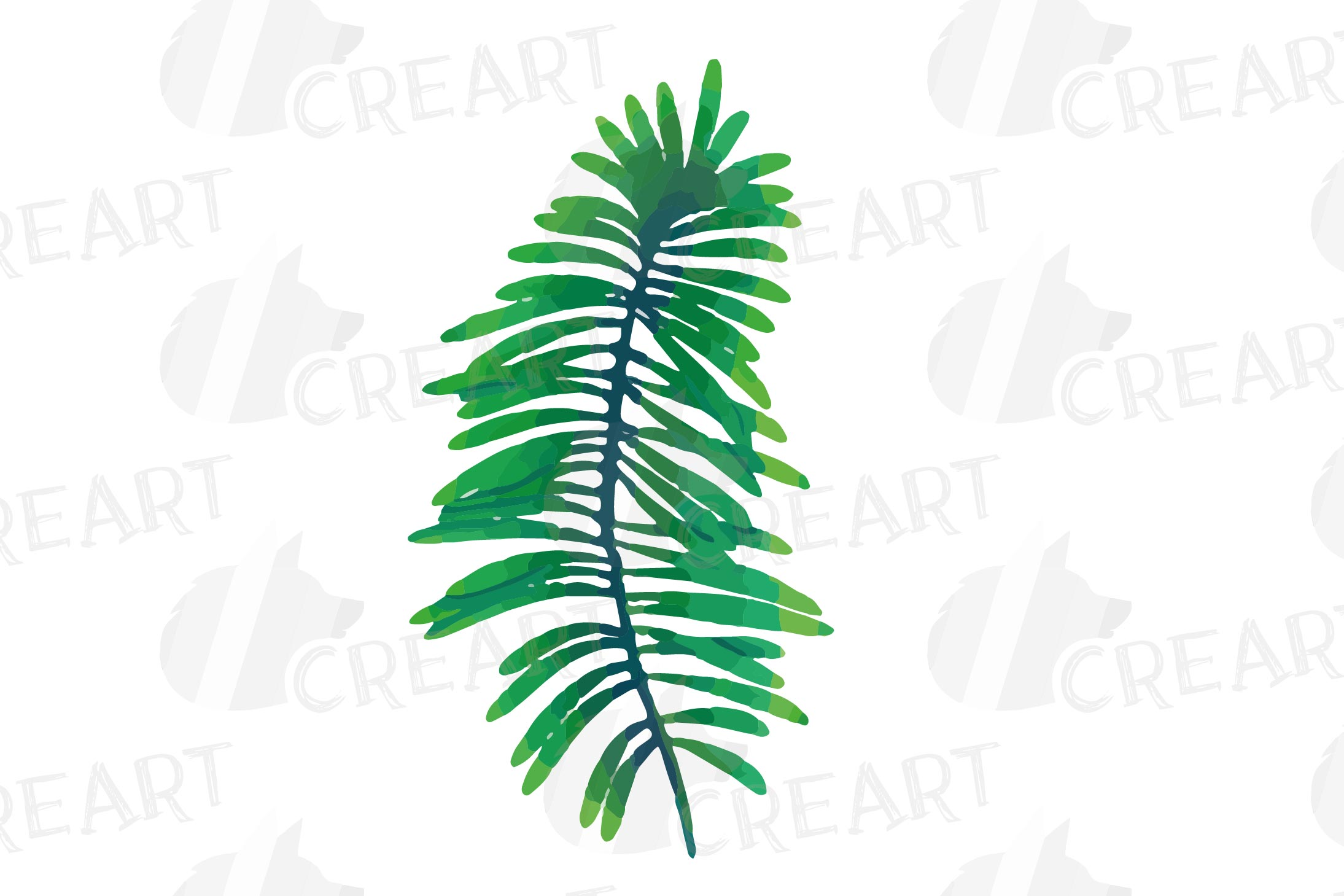 Tropical navy blue and green leaves and exotic flowers example image 15