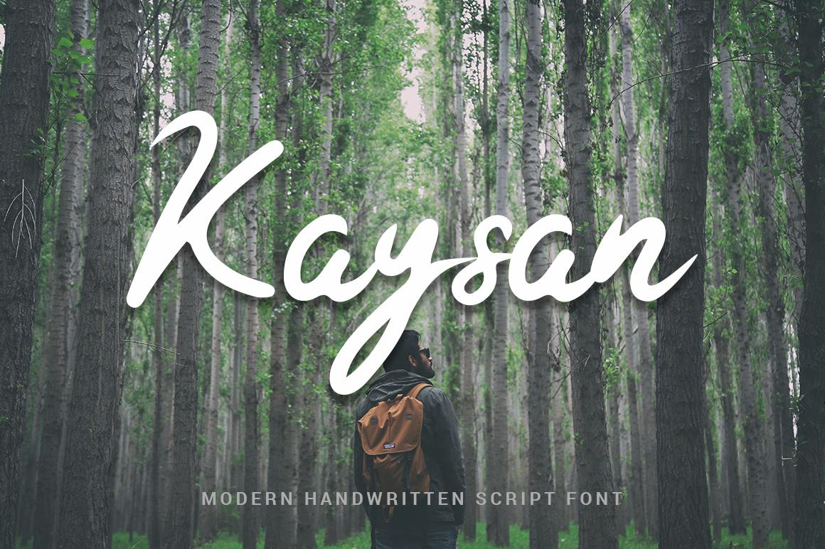 Kaysan Signature example image 1