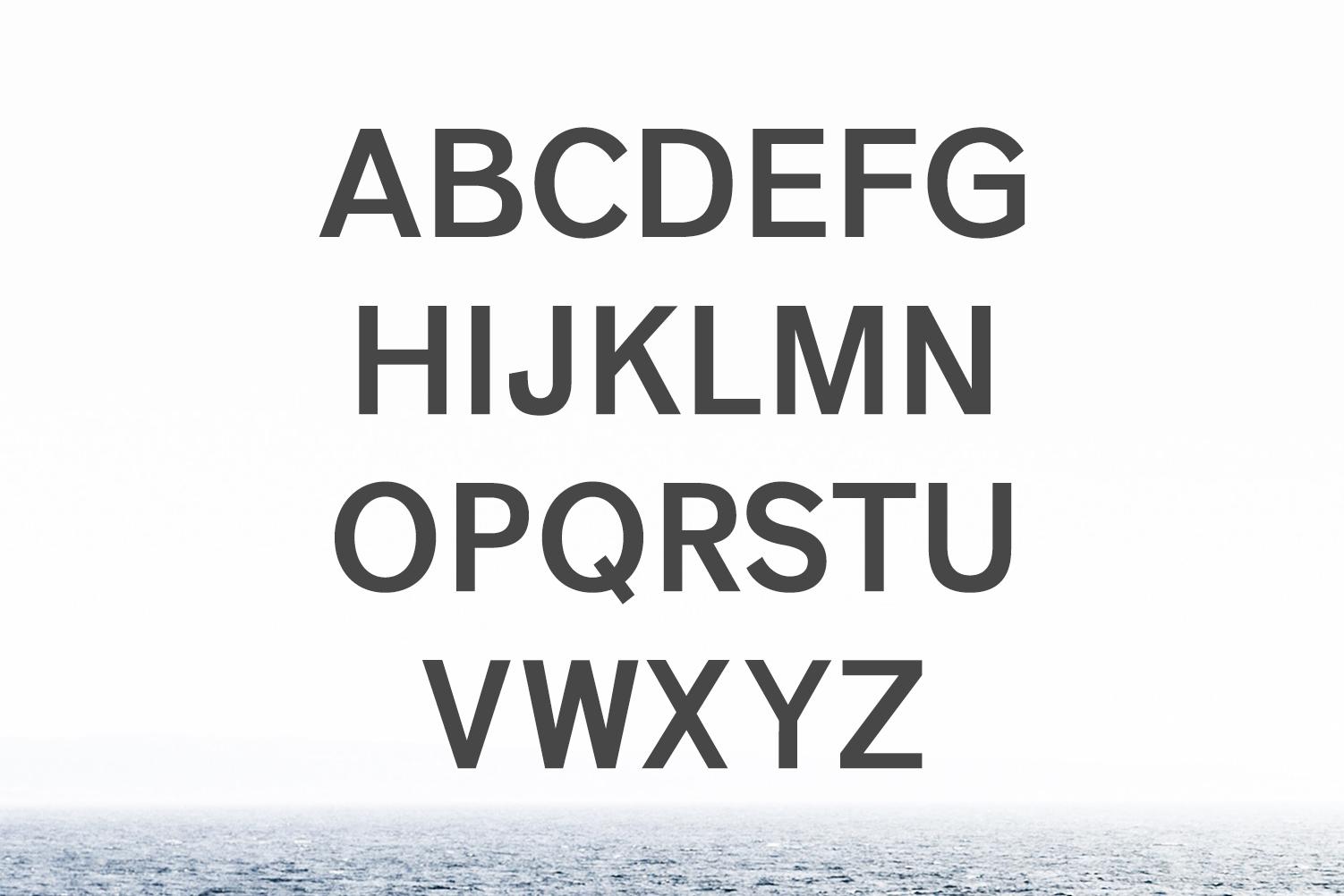 Vengeance Sans Serif Typeface example image 2