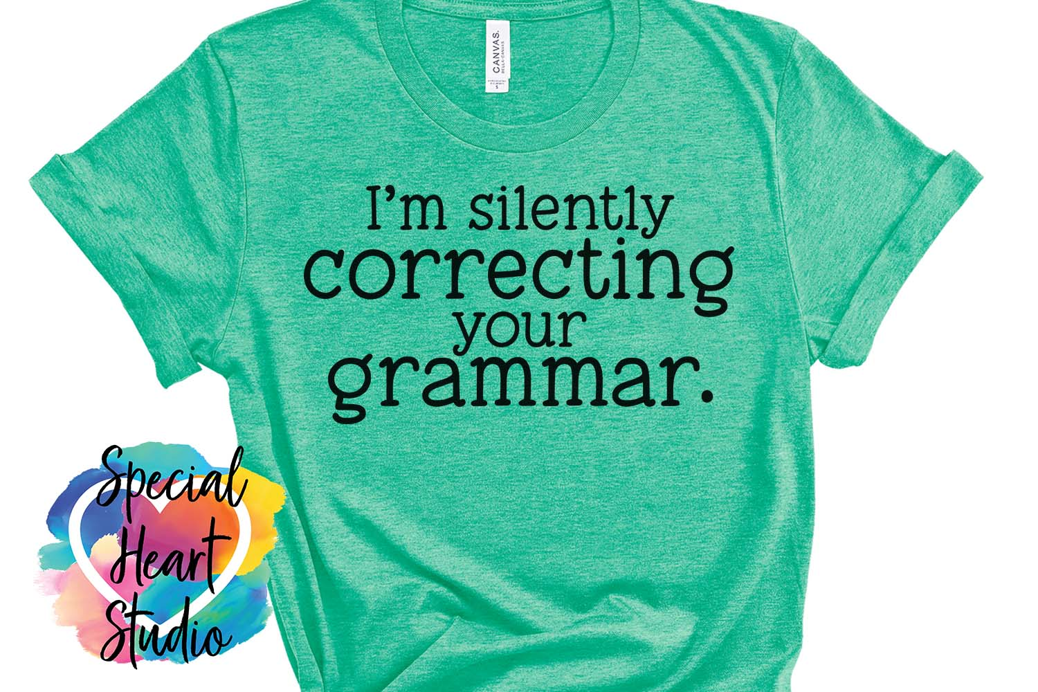 Silently correcting grammar - A sarcastic and funny SVG file example image 4