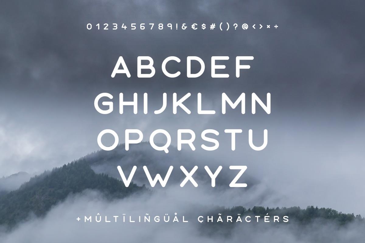 Aoki Typeface example image 2