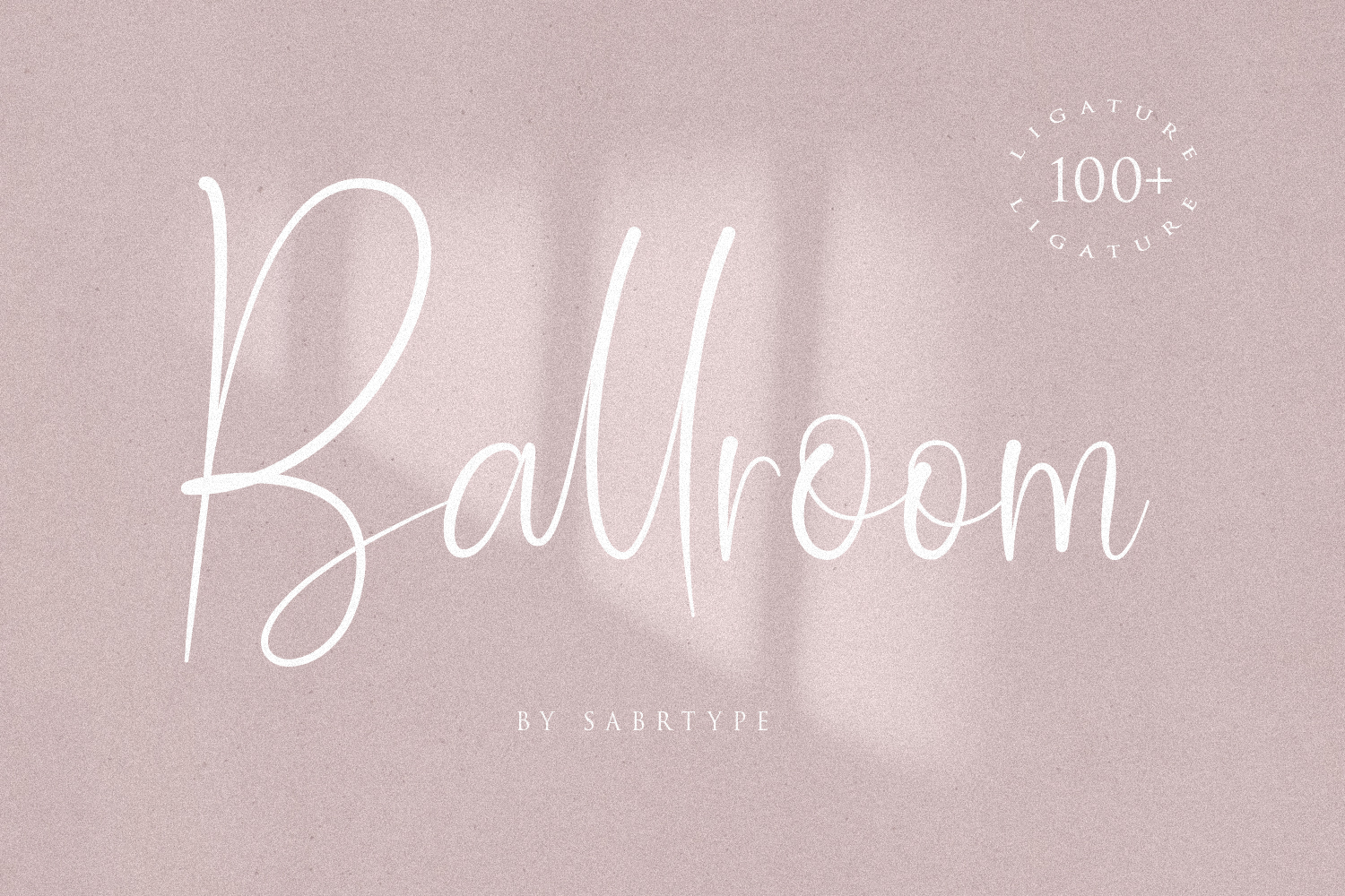 Ballroom Font With 100 Ligatur example image 1