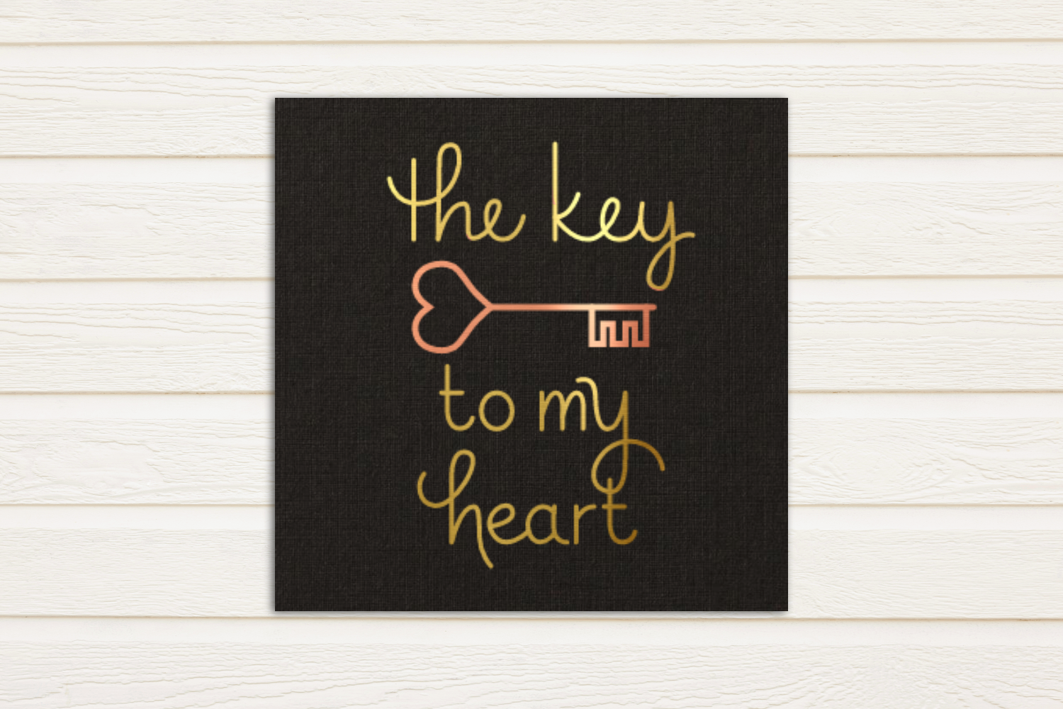 Key to my Heart SKETCH Single Line Pen & Foil Quill SVG example image 2