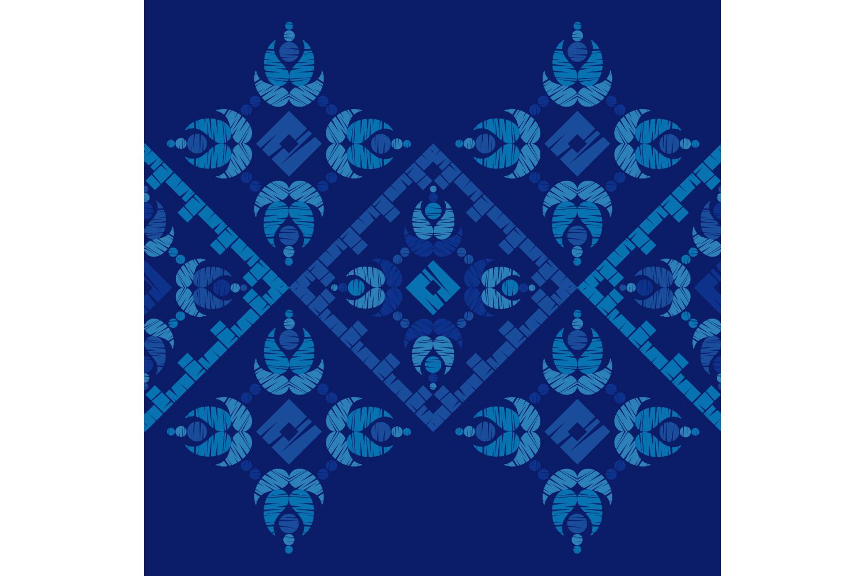 Ethnic boho ornament. Set of 10 seamless patterns. example image 10
