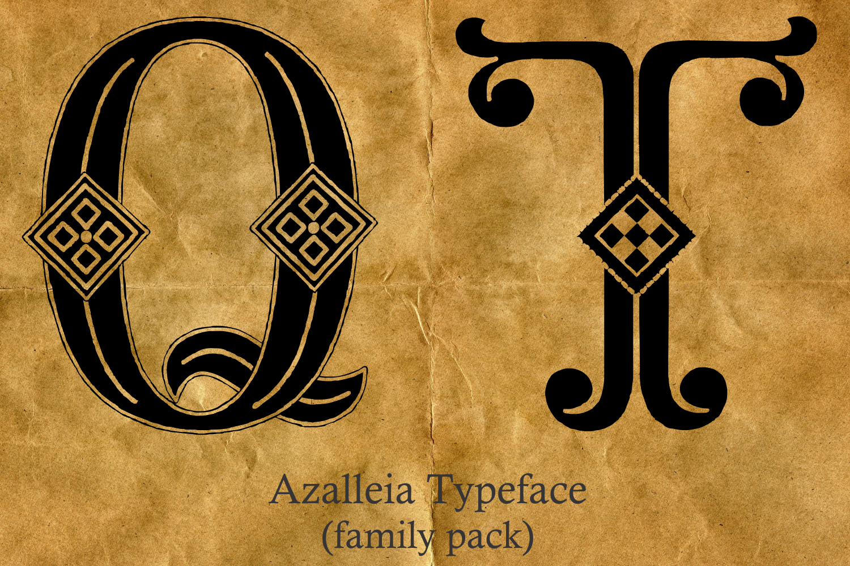 Azalleia Typeface Family Pack example image 3
