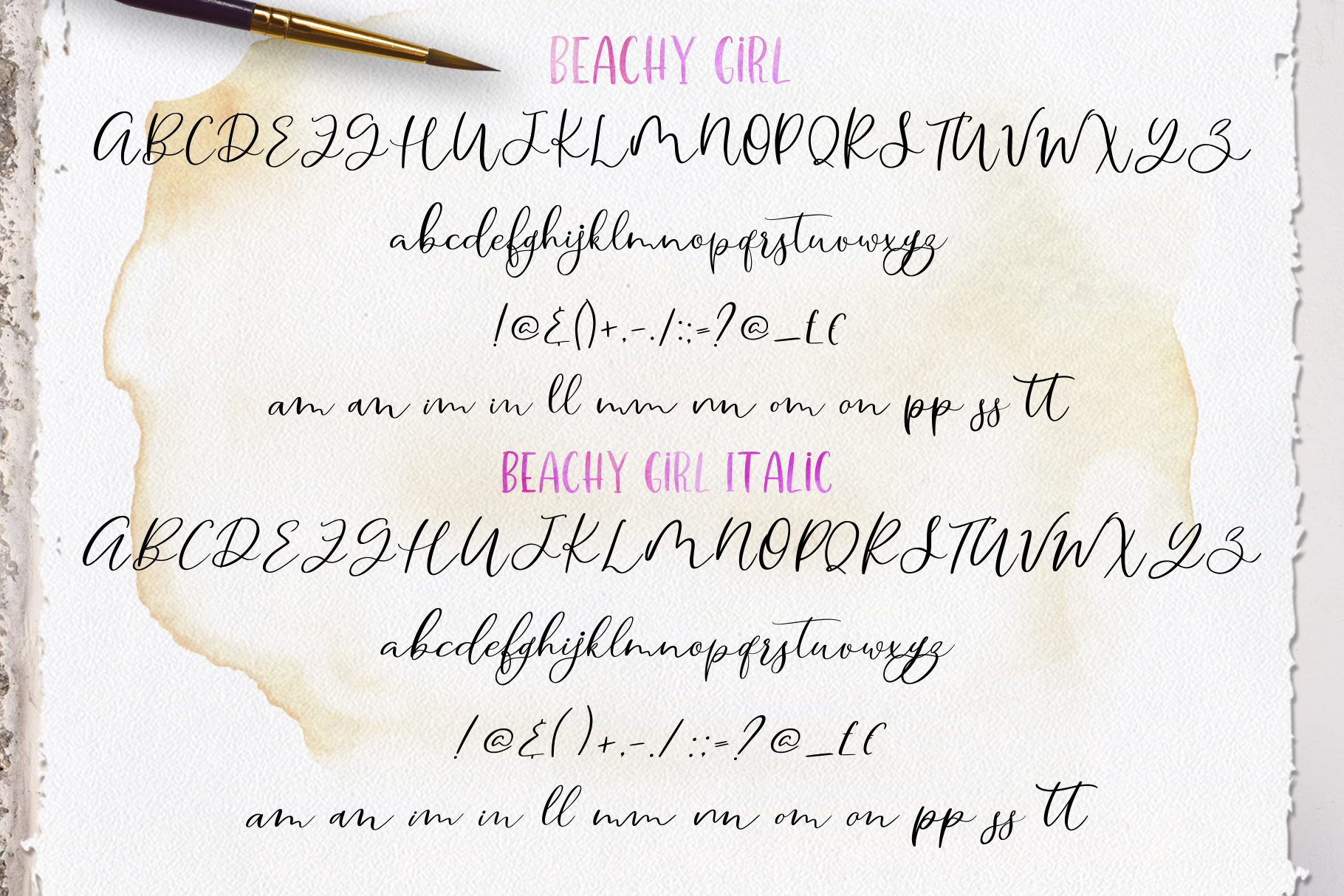 Smooth Handlettering Fonts Collection and Doodles  example image 15
