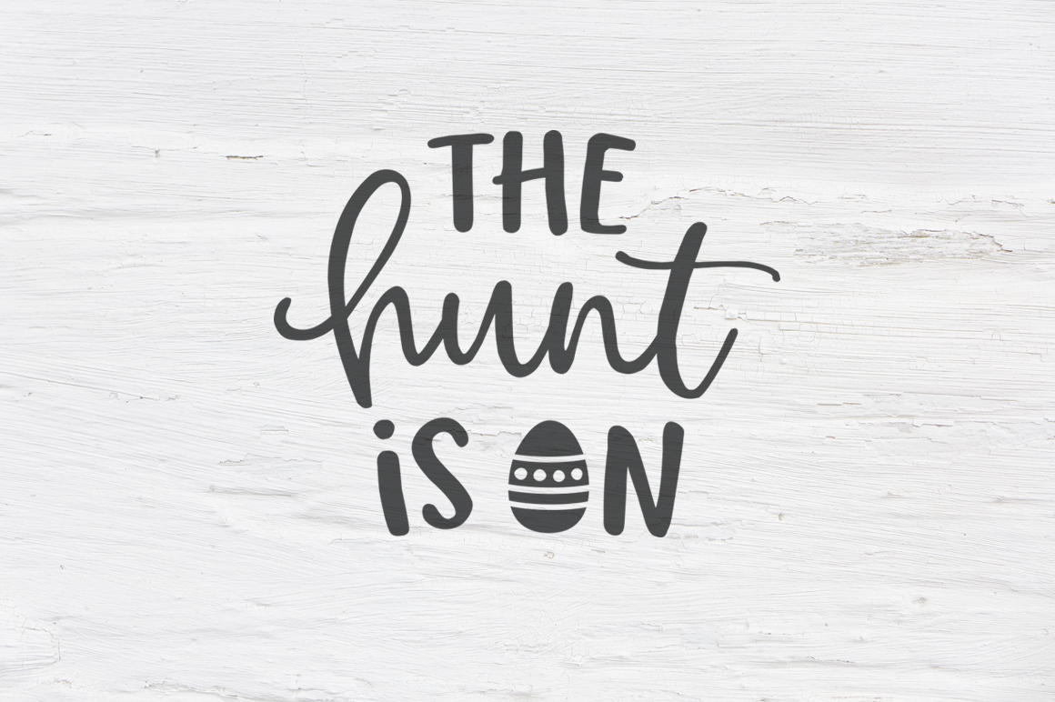 The hunt is on SVG, EPS, PNG, DXF example image 1