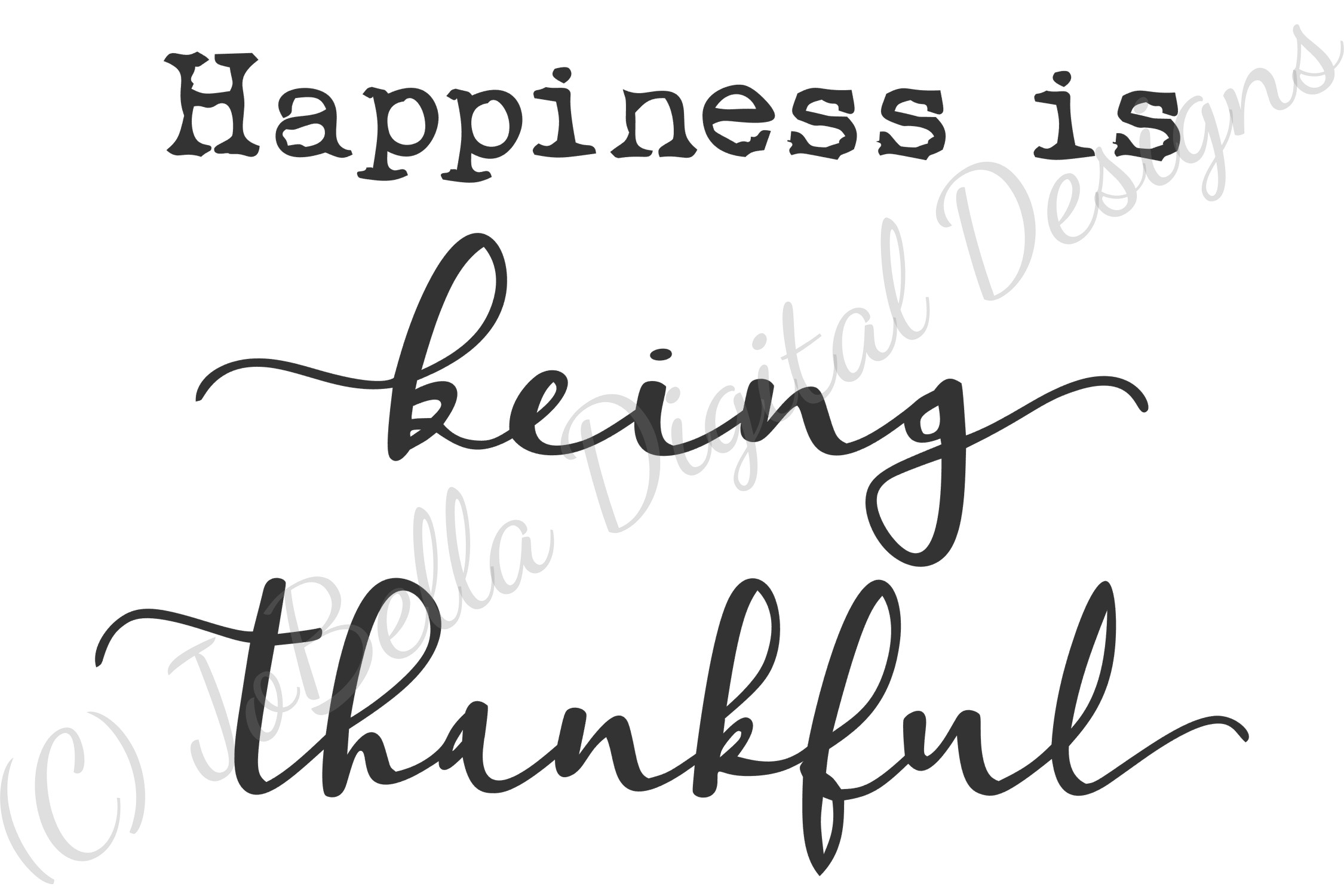 Being Thankful Thanksgiving SVG, Sublimation PNG & Printable example image 4