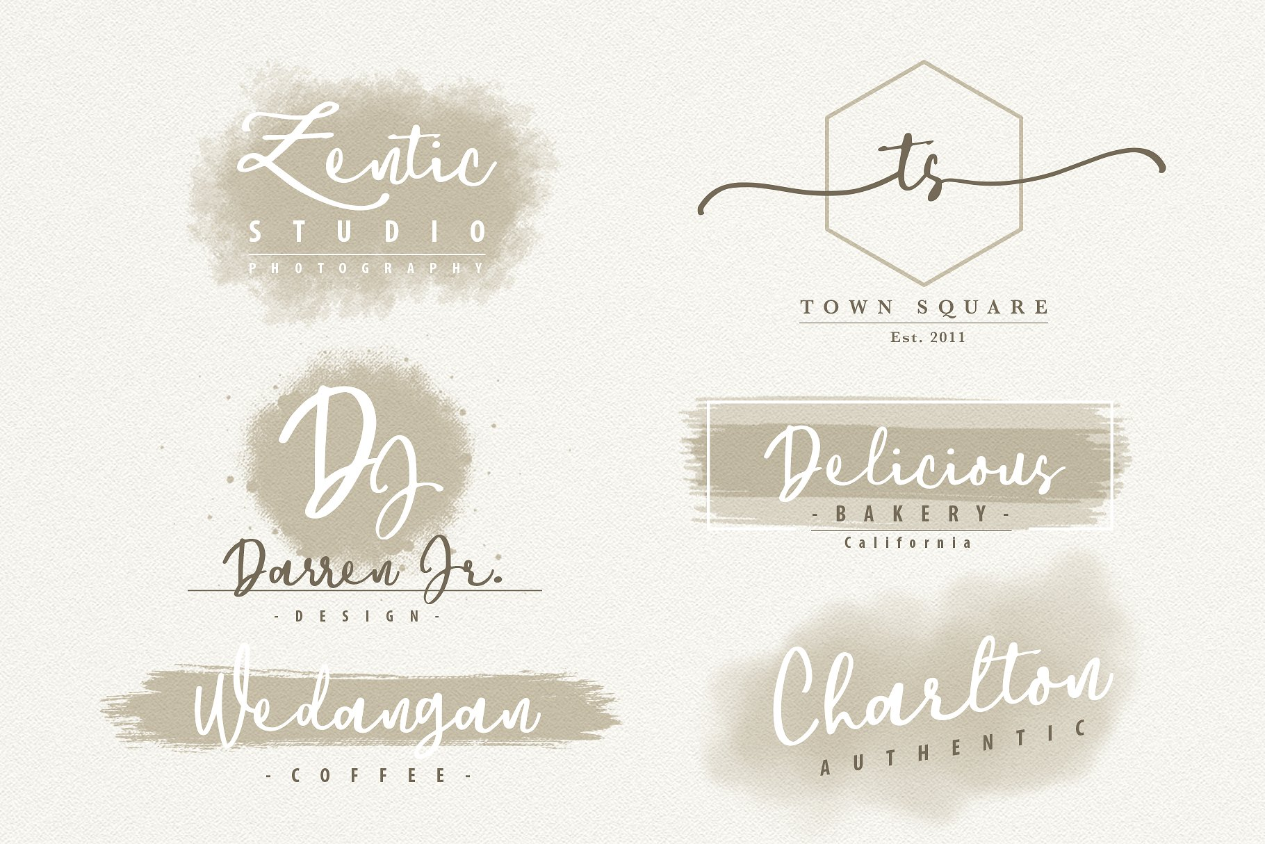 Downtown - Handwriting Script Font example image 8