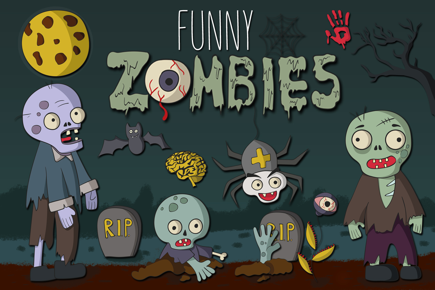 Funny Zombies example image 1