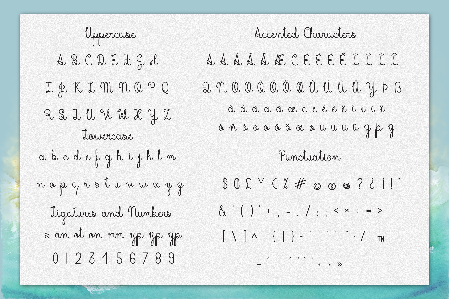 Beachline Multilingual Script Font example image 2