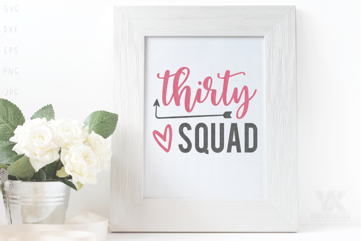 Thirty Squad SVG example image 2