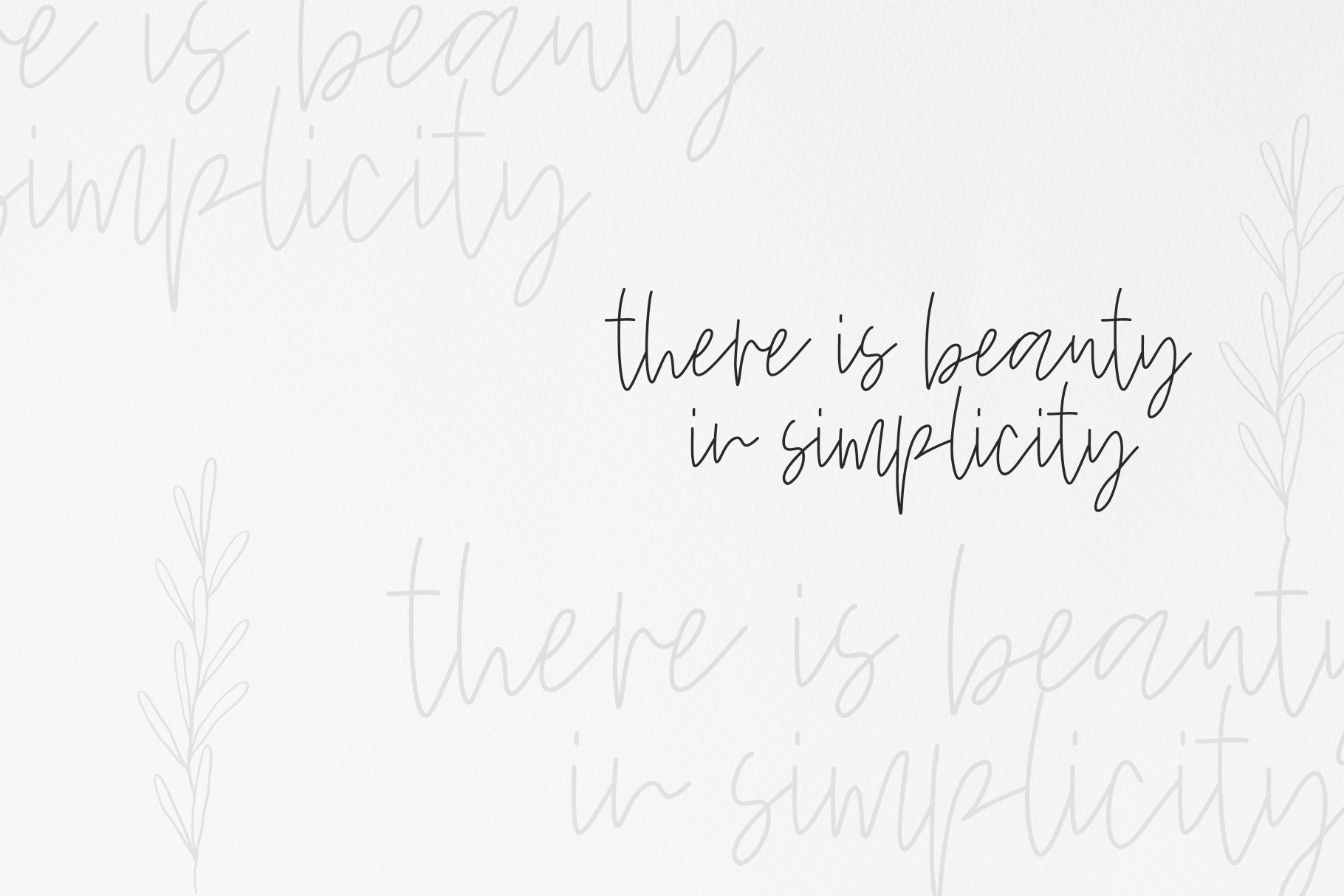 Wildflowers - A Handwritten Script Font example image 7