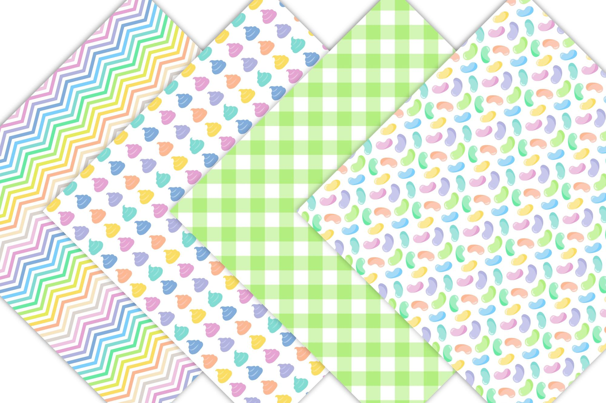 Candy Digital Paper Patterns example image 4