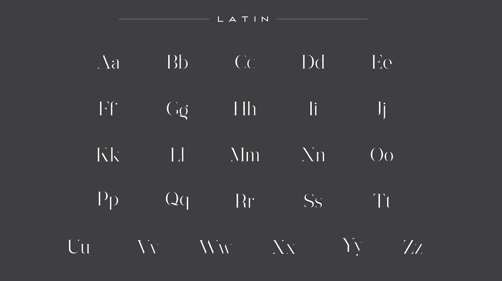 Lorimdale font example image 2