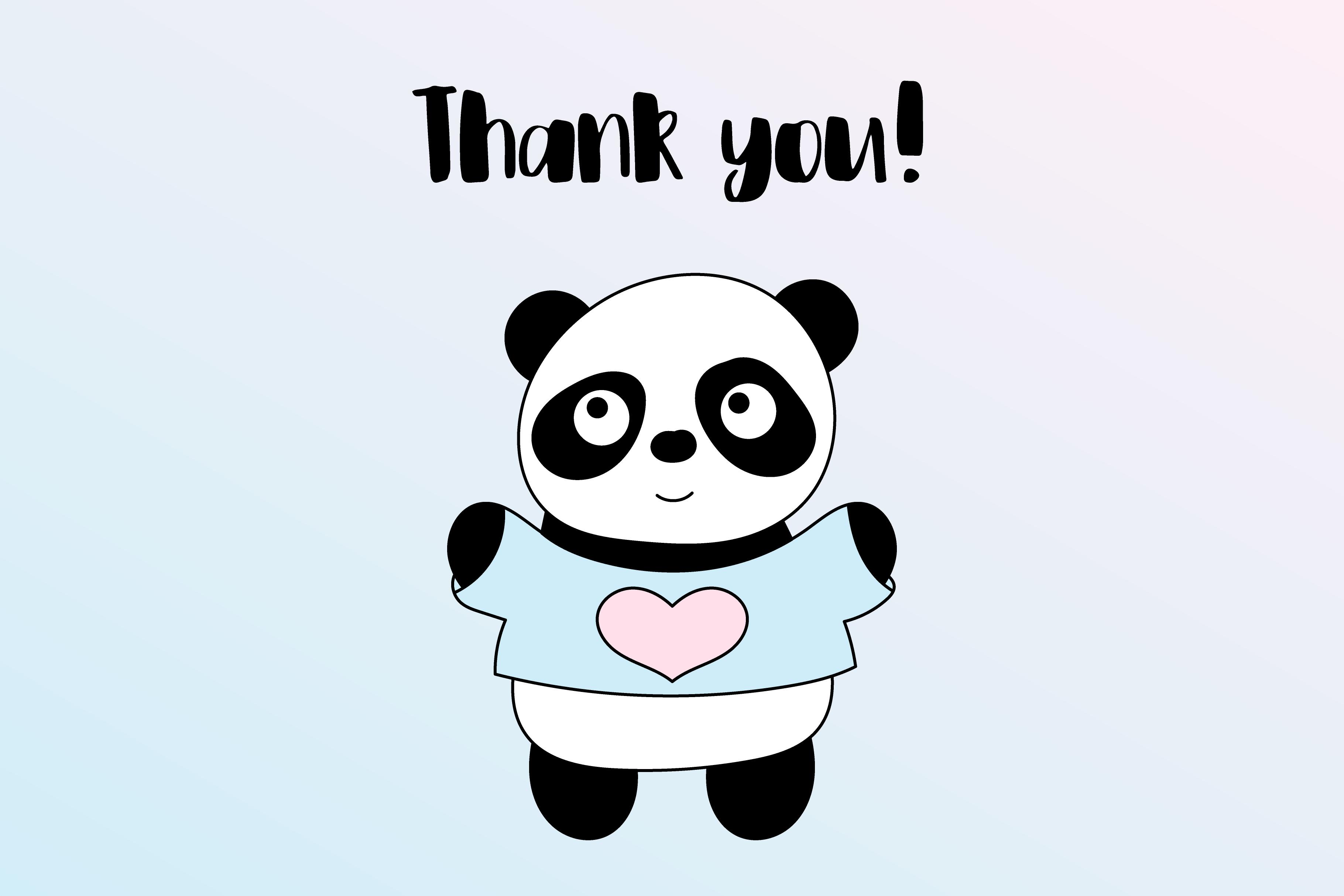 Cute Panda example image 7